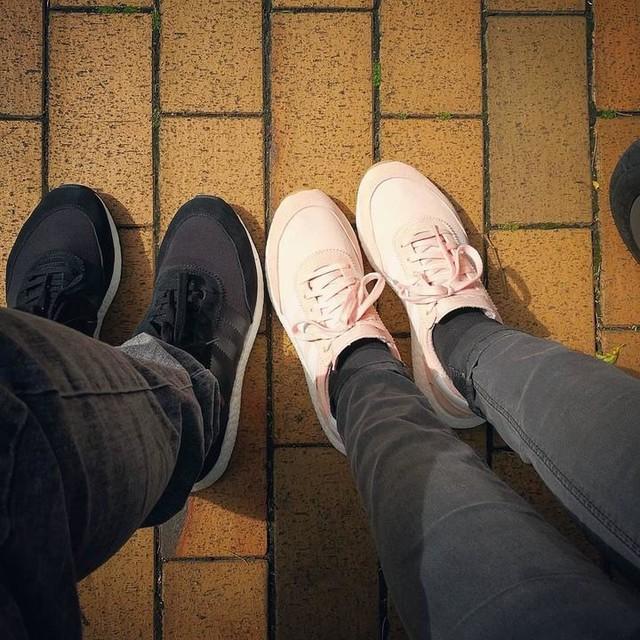 #partnerlook . . . . #inkiboost #adidas #trefoil #3stripesstyle