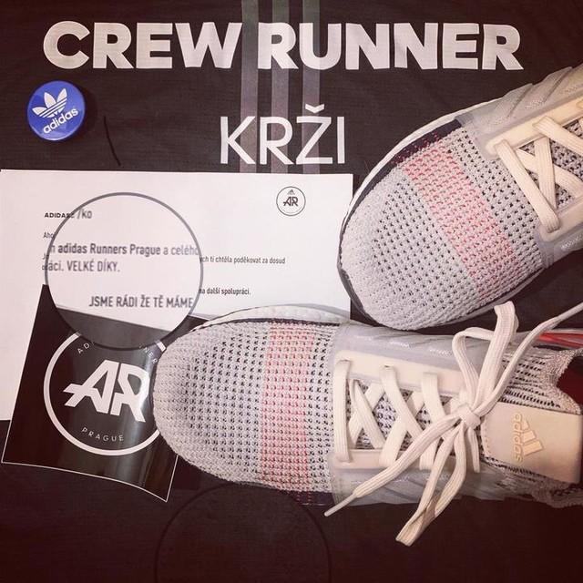 1f806bb07 Včerejší dárečky od #adidasrunnersprague za pomoc v komunitě jako  #crewrunner jsou super 🤩 Vymazlený