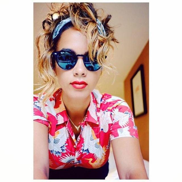 Monica Rose Durden - Tsuru Hawaiihemd