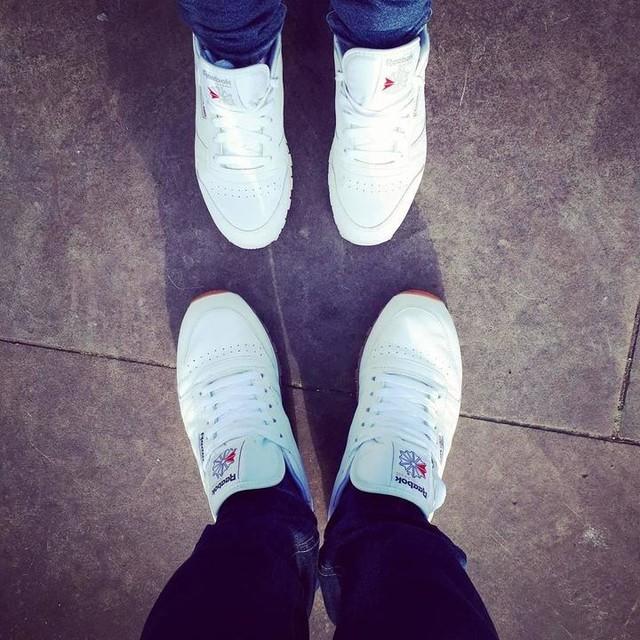 Kids in kicks #mążiżona #globtroterzy #reebokclassic #london #kicks