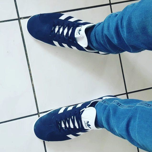 New shoes! 👞 👌👍💪 #shoes #adidas #gazelle #insta