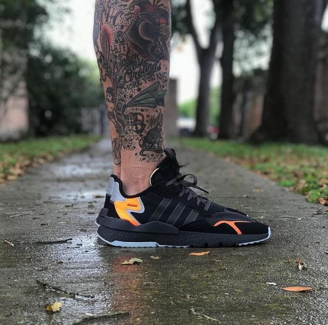 adidas Nite Jogger for today. #igsneakercommunity #kickstagram #boxlife_clothing #brandwith3stripes #adidasnitejogger #kotd #wdywtd #walklikeus
