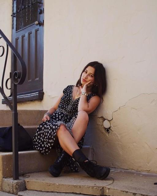 samantha.rom - Vestido Macella Scatter