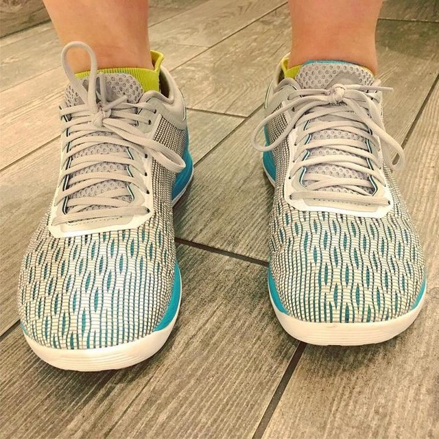 Wore these new kicks tonight and they definitely passed the #Bodypump test! 👌👟👌 #ReebokNano8 #Nano8  #FaveNewShoes