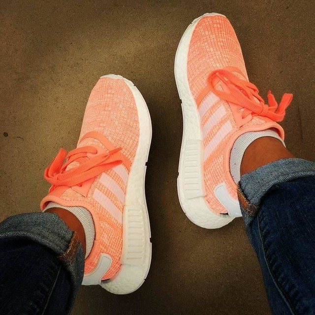 #nmdr1 #sunglow #adidas #kixify #breakingoutanewpair #newadditiontothefamily #needmoresneakers