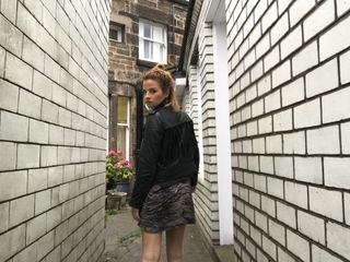 Kwstn - Ashlee Tiger Slip Dress