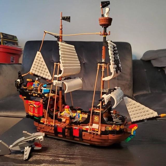 Lego ® Bateau Pirate accessoires 1x canon avec rouge Lavette de Set 6279 et 6769