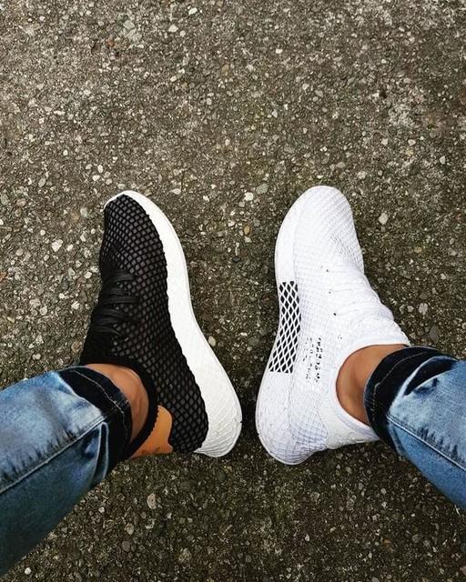 more photos 998e7 79bed black and white adidasoriginals deerupt sneakers sneaker sneakerhead  kicks