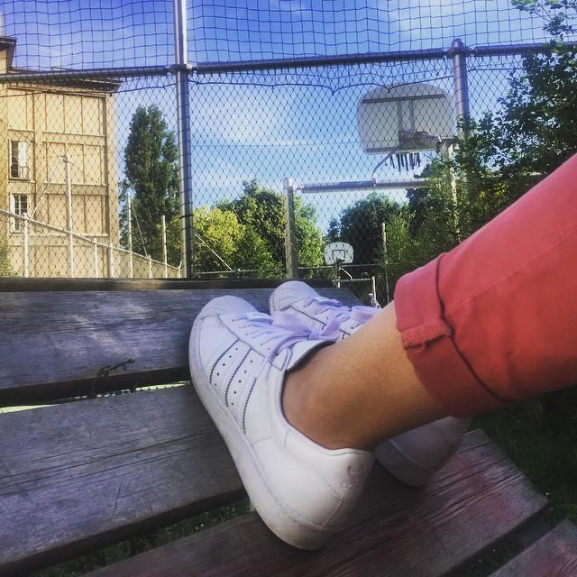Basket // Basket  #basket #sunday #superstar #adidas  W/ @_juliedub_