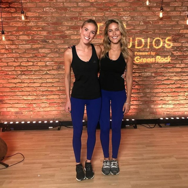 Yesterday we faced all our fears and shot a LIVE broadcast at the new amazing @togstudiosldn . This was hugely out of our comfort zone and the nerves were out of control but the incredible @pips_taylor looked after us and made us feel totally at ease. We had such fun sharing our fitness tips. The lesson learnt here is to believe in yourself. The anxiety was crippling but WE DID IT!!! Believe you can and you will 💓 @theofficegroup #soulsistermethod #anxietyhelp #anxietyrecovery #fitnessfun
