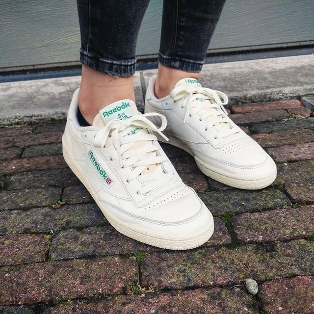 New shoes are never a bad idea #reebokclubc85vintage #reebok #reebokvintage #reebokclubc #sneakers #sneakerhead #shoes #highsnobiety #reebokclassic