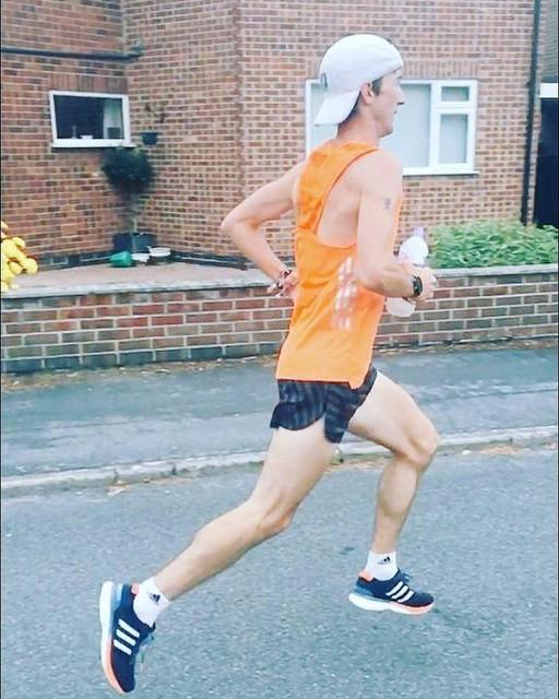 Final @Euro_Champs @AndrewJamesHobd session done ✅ running in fresh @adidasrunning @adidasUK Boston Boosts is always a pleasure #Berlin2018 #marathontraining #marathon #runner #runnersofinstagram #summer #fitness #taper