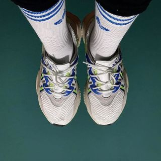adidas Mid Cut Crew Socken, 3 Paar Blau   adidas Deutschland