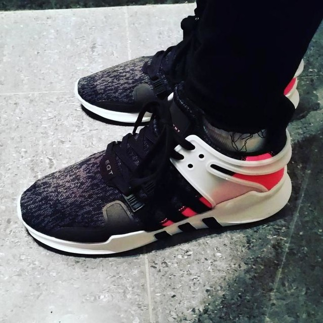 adidas EQT Support RF Running SNEAKERS Camo White Black