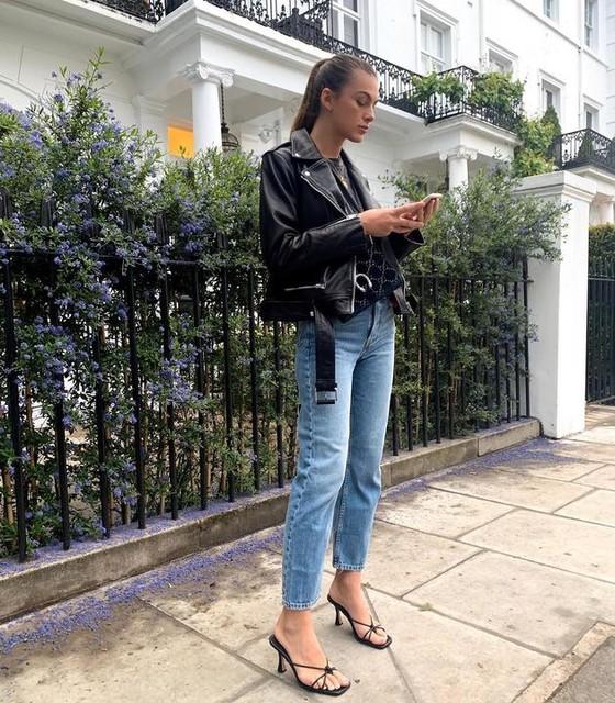 pariselllis - Lexi Leather Biker Jacket