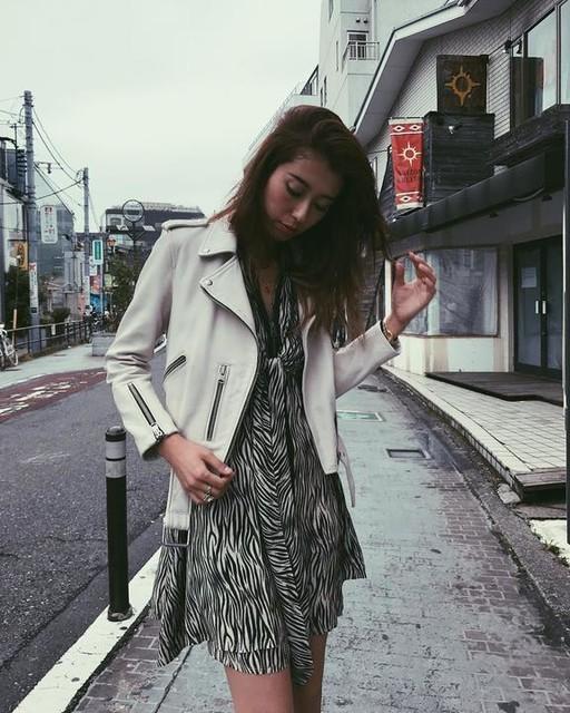 ALLSAINTS JAPAN - Robe Jayda Zebra