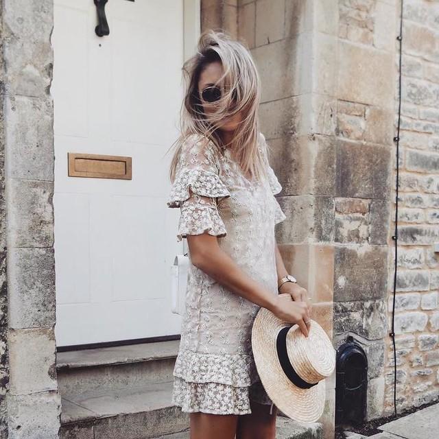 Lauren Crowe - Henrietta Ruffle Dress