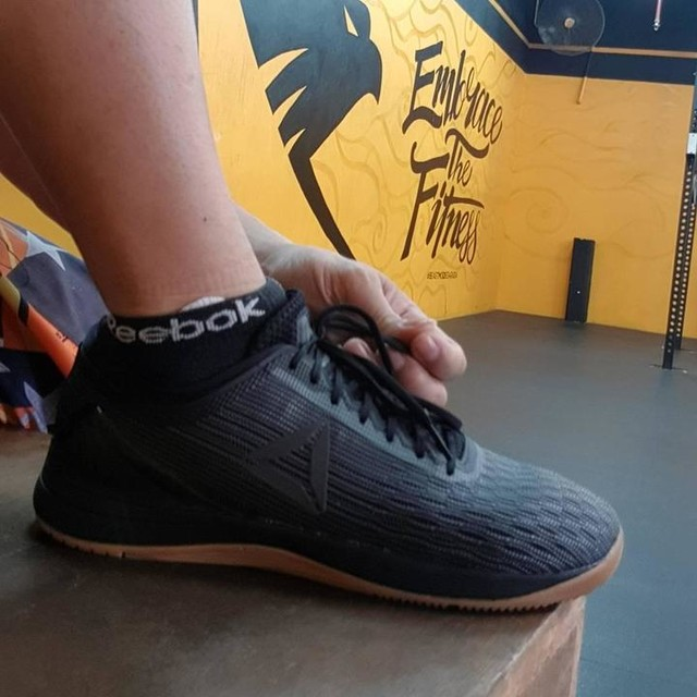 @crossfitgames open ready with nano8 @reebokindonesia .. Get your pair for the game in store near you.. #crossfit #crossfitreebok #open18 #nano8 #reeboknano8 #reebok #18.1 #crossfitopen2018 #alwaystraining #embracethefitness #masterclass #masterdivision #40goingstrong