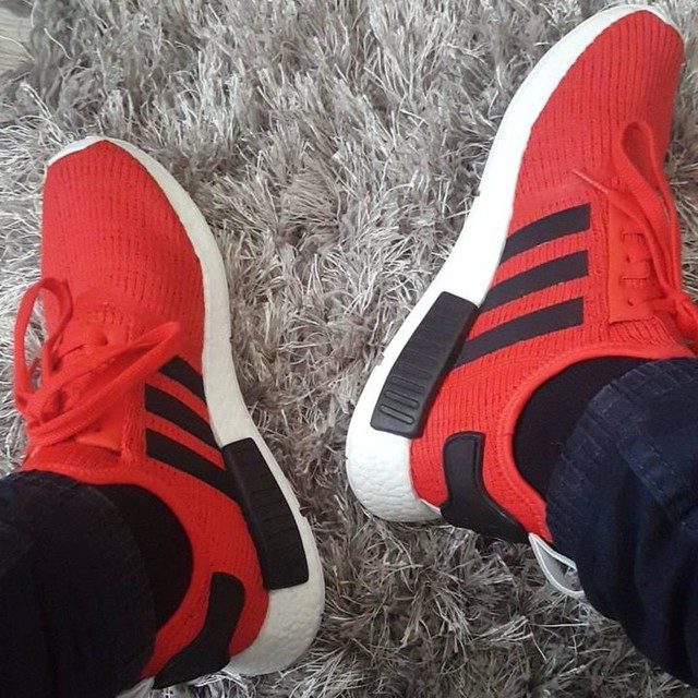 #newsneakers #adidas #NMD #black #red #white #rich #streetwear #style #chillin #Poznan #l4l #f4f 😍