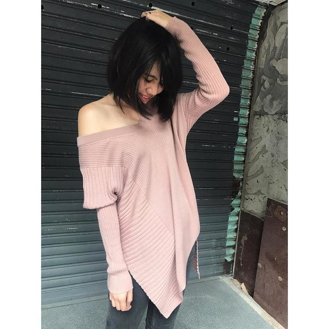 小敏 - Keld Olivo V Neck Jumper