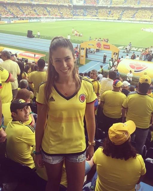 Con la piel puesta porq hoy ganamos y gustamos! @directvco #Eliminatorias #vamosmisele #vamoscolombia