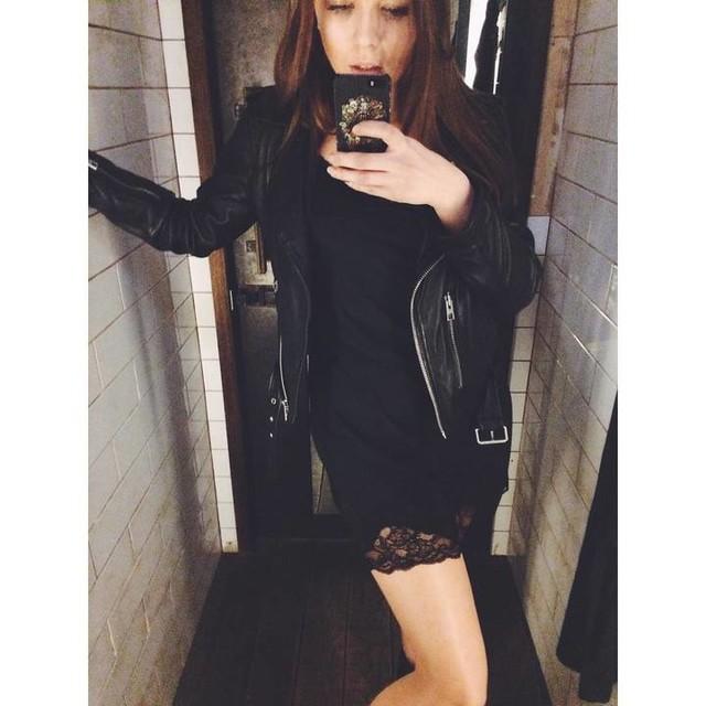 Екатерина Смирнова - Balfern Leather Biker Jacket