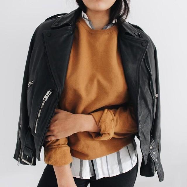 Orion Carloto - Balfern Leather Biker Jacket