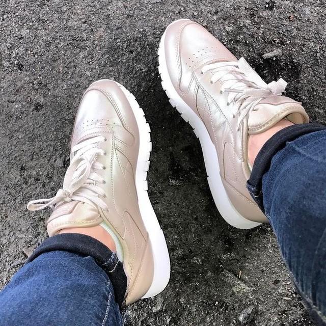 Nouvelle acquisition 😍 #reebok #baskets #shoes #gold #love #2k17 #insta #instant #new #now