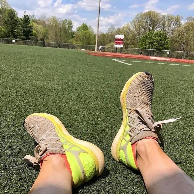 My FloatRides are good for running bases too! #feelthefloatride #ragnarambassador #ragnardc #bemorehuman @reebok