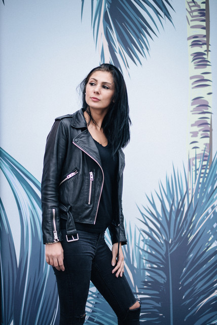 Orla O'Neill - Balfern Leather Biker Jacket