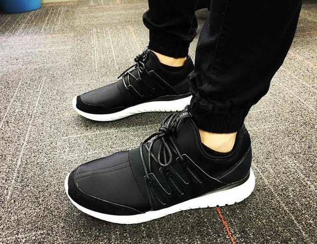 Adidas adidas Originals Black Tubular Viral Trainers Asos