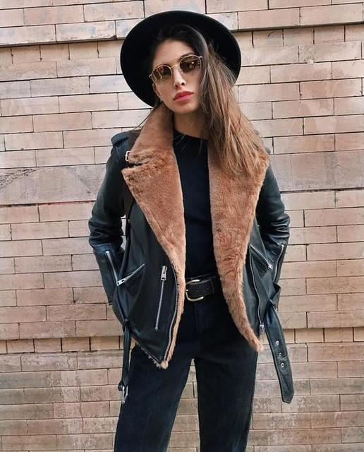 Lara Ghraoui - Balfern Lux Biker Jacket