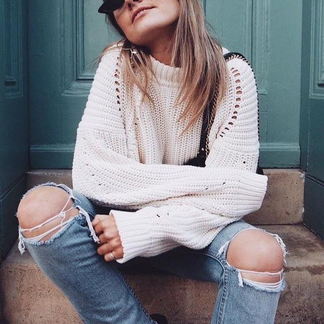Lauren Crowe - Jersey Malu Pointelle