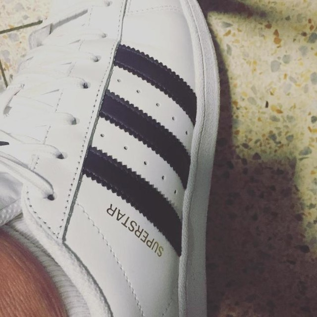 Love my new shoes ❤️ #manchester #adidas #superstar #shoes #sneakers