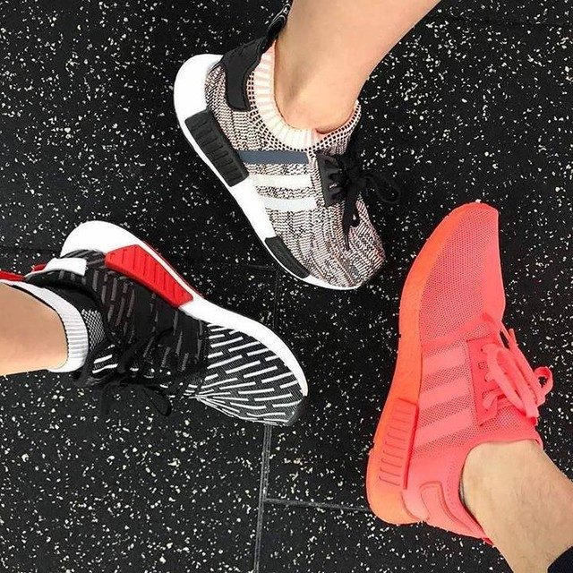 Shoes of the day💕💕💕💕 #nmd #weightlost #gymtime #mcm #wcw #fitfam #fitspo #fitness #malaysia #fit #celebrityfitnessmalaysia #treadmill #abs  #workout #boxing #weightlostprogram #sukan #youcandoit #bodybuilding #fitspiration #cardio  #ripped  #gym #geekabs #crossfit #exercise