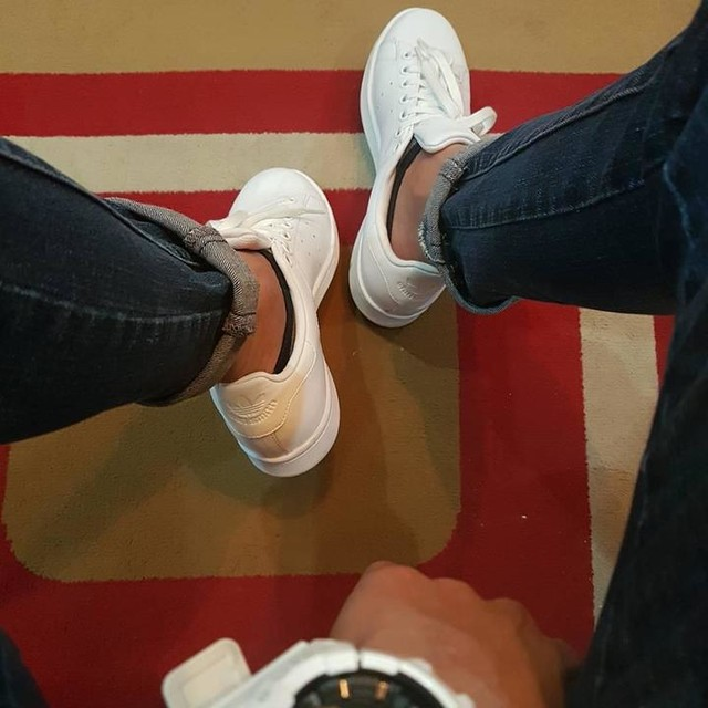 White is never boring.  #stansmith #adidas #kick #shoefie