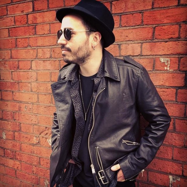 Dani d'Elboeuf - Kahawa Leather Biker Jacket