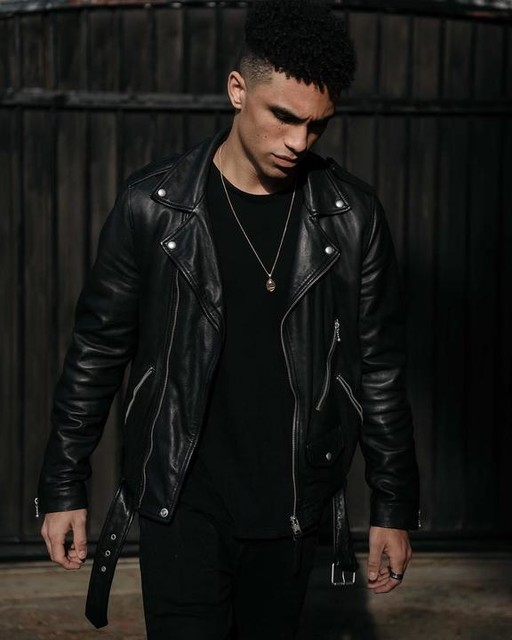 kmedilophoto - Renzo Leather Biker Jacket