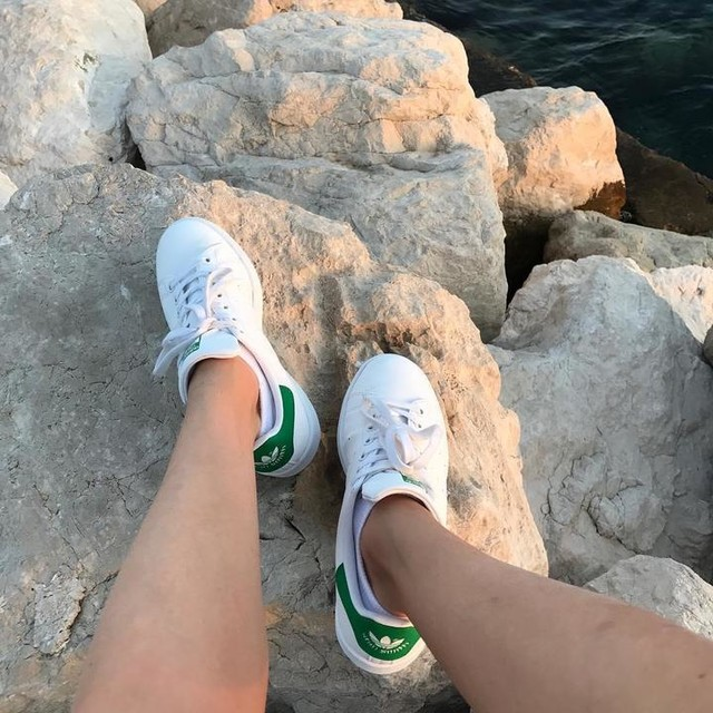 Na skale #summer #tenerife #adidas #stansmith #skała