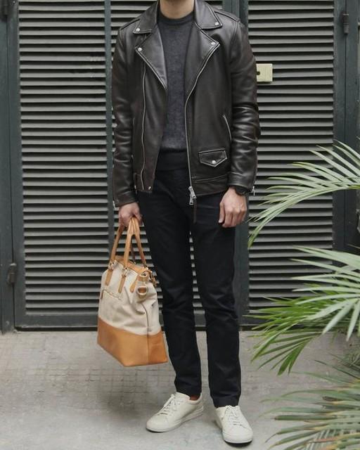 the.undercut - Milo Leather Biker Jacket