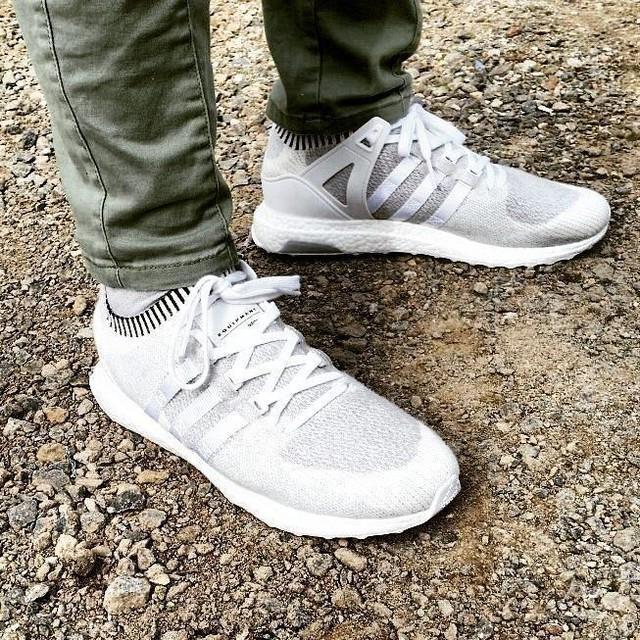 Couldn't resist /// #newkicks #adidas #eqt #eqtsupport #ultraboost #primeknit #3stripesstyle