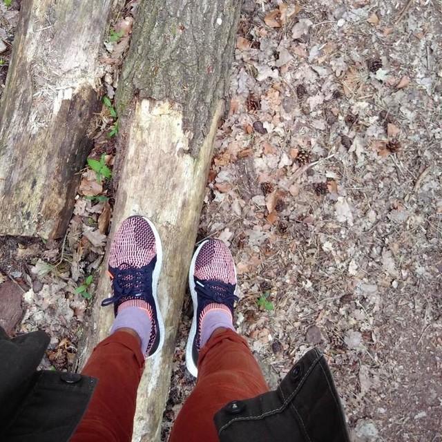 SUNDAYS . . #forest #sundays #weekend #naturelove #forest🌲 #trees #naturelovers #outofthecity #nature #spandauerforst #relax #walk #outside #leaves #shoes #adidas #adidasrunning #ultraboost #vintagejacket #jbrand #pants #slimpants #outfit #ootd