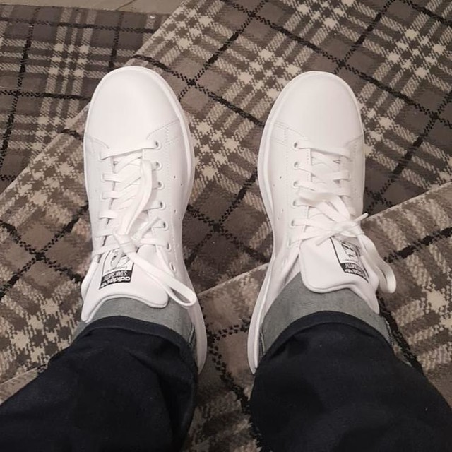 It's a Stan Smith kind of day #adidas #stansmith #trainerobsession #white