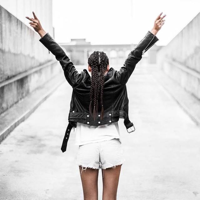 travel. lifestyle. fashion. - Gidley Leather Biker Jacket