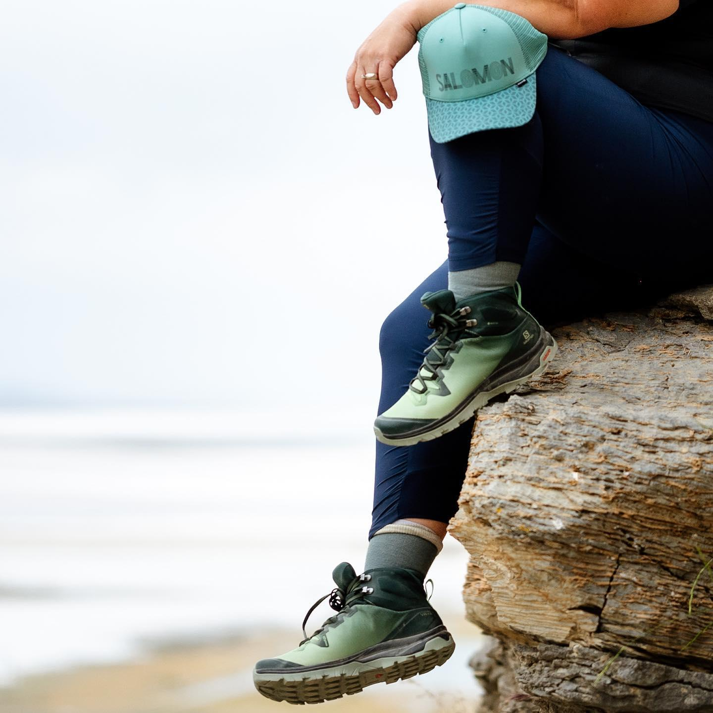 Salomon Womens Vaya Mid GTX Hiking Shoe