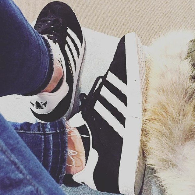 aaf314e847ff Excited to wear my new super comfy gazelles for lots of sightseeing!  adidas