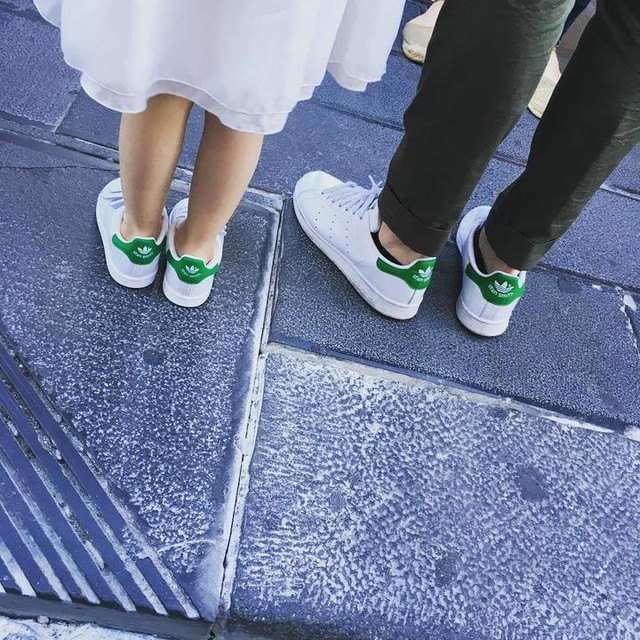 #stansmith #daughter #dad #fashionstreetstyle #naples