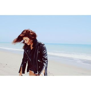 I'M ALINZ - Balfern Leather Biker Jacket