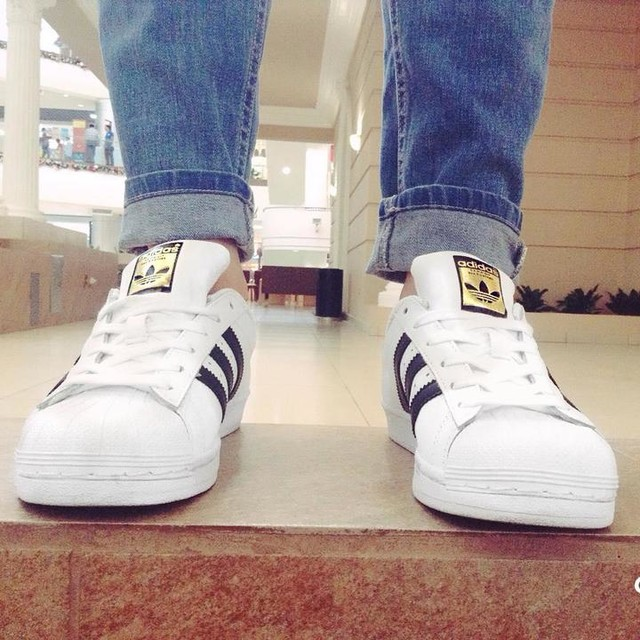 #adidas #adidassuperstar #superstar I love my shoes!