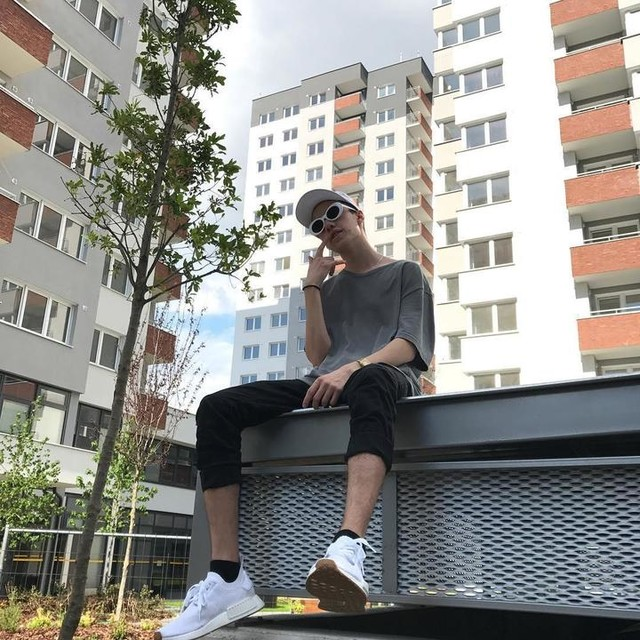 #city#boy#flex#sneakers#nmd#adidas#style#street#clothes#sunglasses#buildings#park#cap#palace#casio#watch#gumbottom#white#me#hype#streetwear#sunny#day#chill#trap#photo#holidays#summer#gold#real